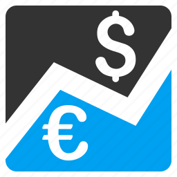 bank, banking, economy, finance, financial trading, forex market, money trade icon