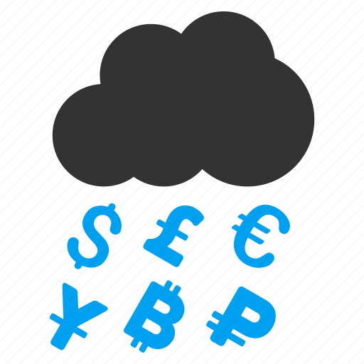 dollar, finance, financial, money grant, profit, rain, success icon