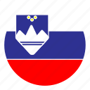 color, country, europe, flag, nation, round, slovenia icon