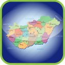 country, europa, europe, hungary, map, maps icon