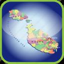 country, europa, europe, malta, map, maps icon