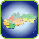 country, europa, europe, map, maps, slovakia icon