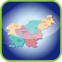 country, europa, europe, map, maps, slovenia icon