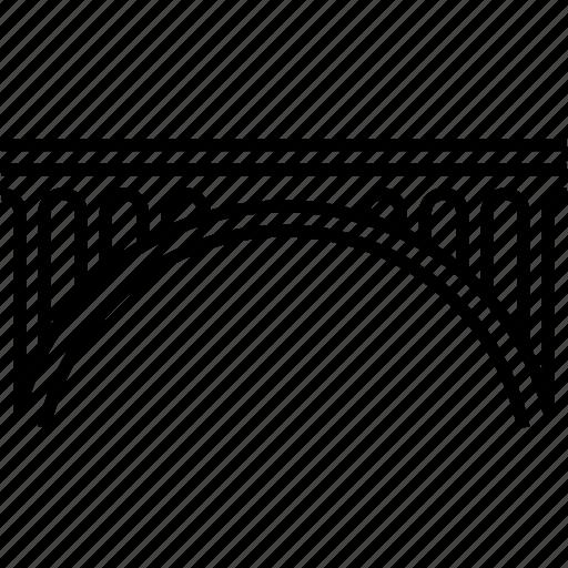 adolphe bridge, arch bridge, connecting, landmark, luxembourg icon