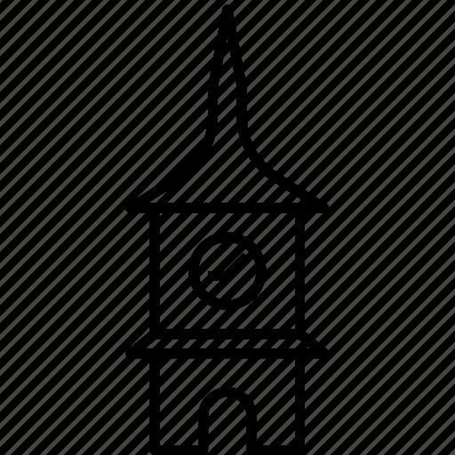 bern, clock tower, landmark, switzerland, zytglogge icon