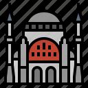european, hagia sophia, istanbul, landmark, turkey icon