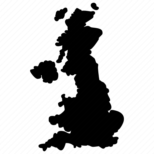 Britain England Map Uk Uk Map Icon