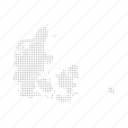 country, dashboard, data, denmark, dotted, europe, map
