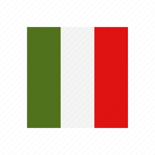country, culture, europe, flag, italy, nation, patriotism icon