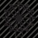ferris wheel, landmark, london, london eye icon