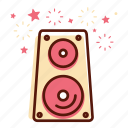 amplifier, audio, loud, multimedia, music, sound, speaker icon
