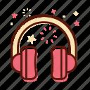 audio, earphone, headphone, headset, instrument, music, sound icon