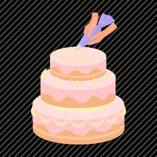 Birthday, cake, dessert, food, sweet, wedding icon - Download on Iconfinder