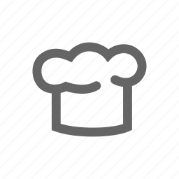 cook, hat icon