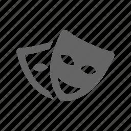 mask, theatre icon