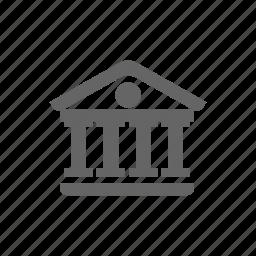 building, musem, poi, public place icon