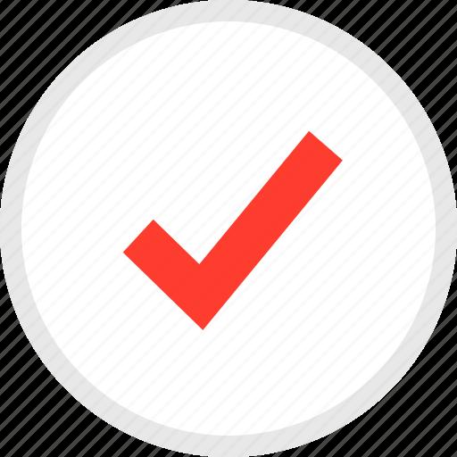 approved, check, checkmark, creative, mark, materialdesign icon