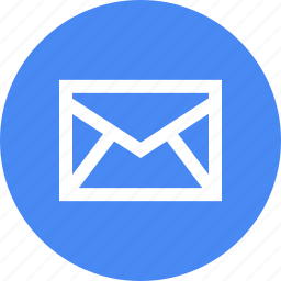 connect, email, envelope, gmail, materialdesign, message icon
