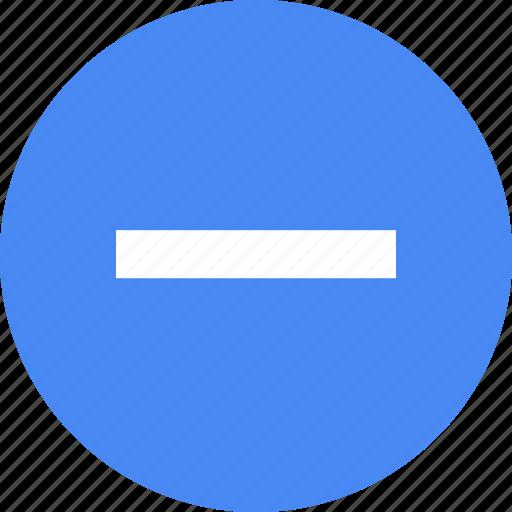 line, menu, navigation, negative, neutral, pause, subtract icon
