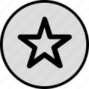 data, favorite, save, special, star icon