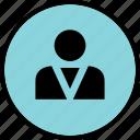 boss, man, person, profile, user icon