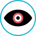 channel, eye, views, watch, youtube icon