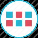 analytics, apps, data, mockup icon