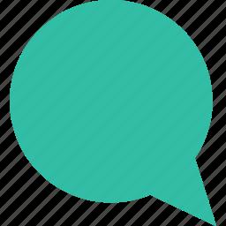 bubble, chat, conversation, sms, speak icon