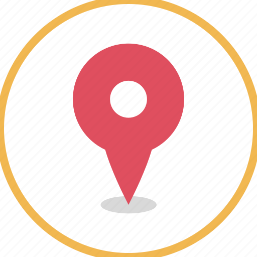 direction, gps, location, map icon