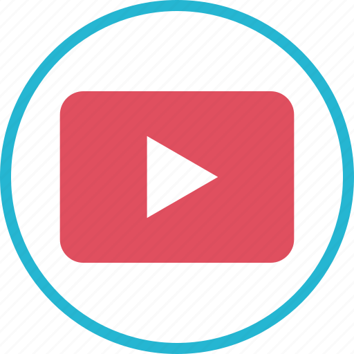 media, music, play, video, youtube icon