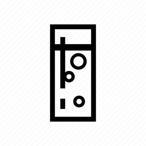 glass, juice, of, soda, tumbler, water icon