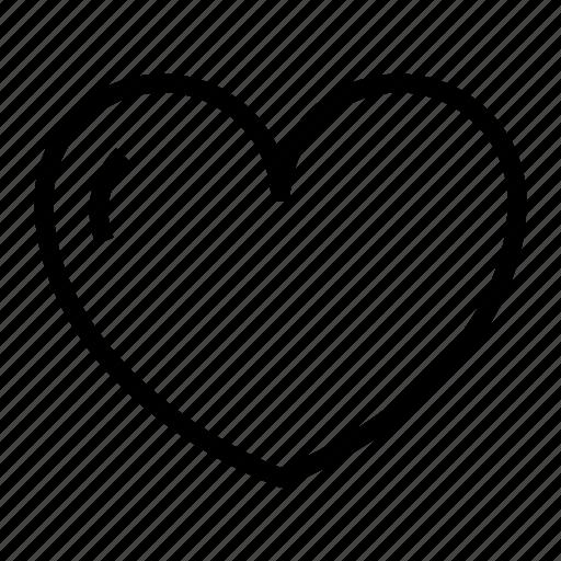 heart, love, lover, valentine icon