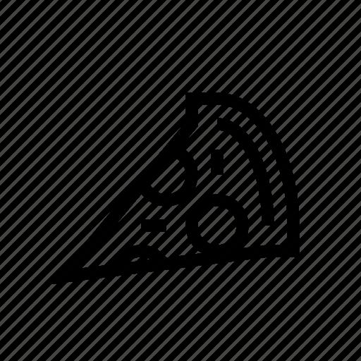 eat, food, pizza, slice icon