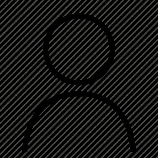 male, person, portrait icon