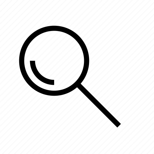 find, glass, lens, magnifying, search, zoom icon