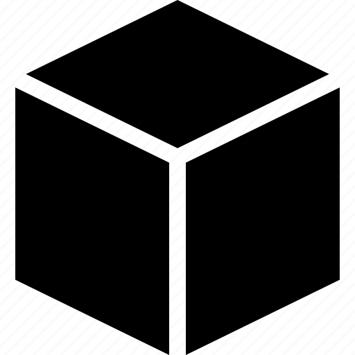 3d, cube, dimensional, hexahedron, shape, square, three icon
