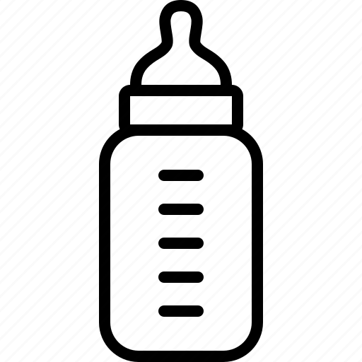Line Art Icons : Baby bottle clipart black and white imgkid the