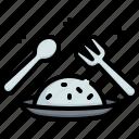 rice, food, restaurant, dish, plate