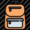 bag, briefcase, school, backpack, study, education