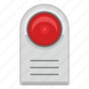 alarm, home, light, red, signal, siren icon