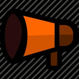 advertising, bullhorn, loudspeaker, megaphone, promo, promotion icon
