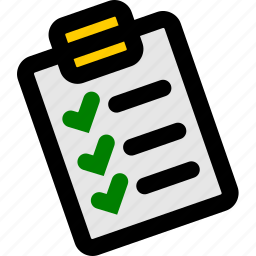 checklist, clipboard, note, task, tasks icon