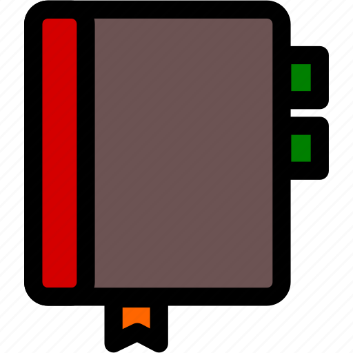 book, notebook, notes, reminder icon