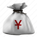 bag, currency, economy, finance, money icon