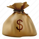 bag, buy, cash, dollar, money, sack, wealth icon