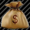 bag, buy, cash, dollar, money, sack, wealth icon