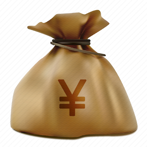 bag, brown, business, buy, cash, currency, economy, finance, finances, market, money, moneybag, pay, payment, profit, realistic, rich, sack, sale, savings, shopping, tax, treasure, wealth, yen, yuan icon