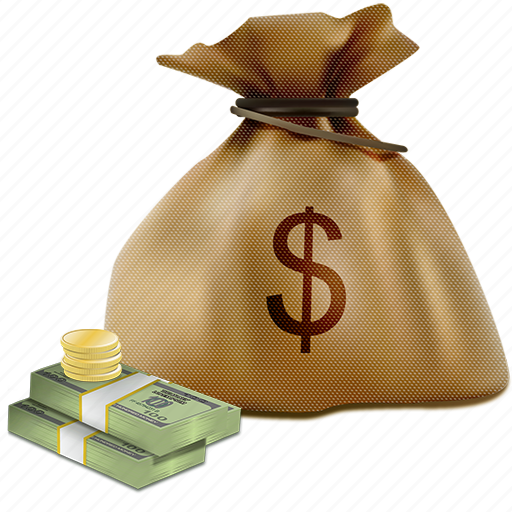 bag, coins, dollar, dollars, finance, money, sack icon