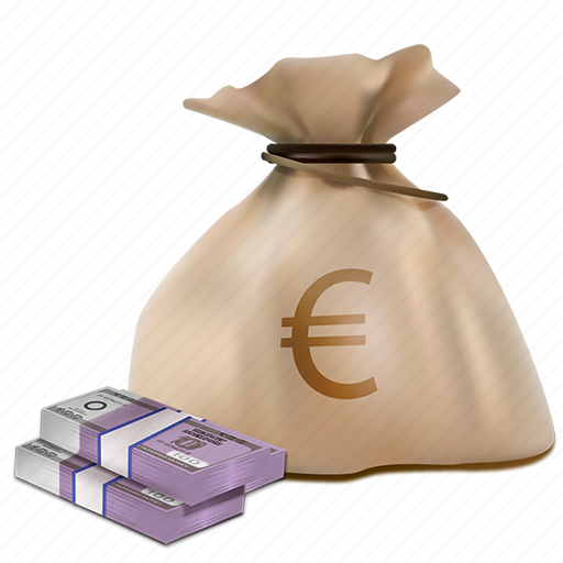 bag, business, buy, cash, currency, money, sack icon