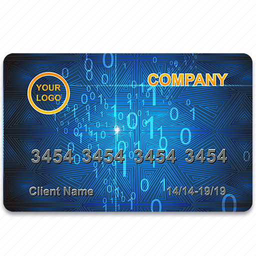 bank, blue, card, credit, finance, payment, plactic icon